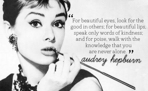Audrey Hepburn Quote Beautiful
