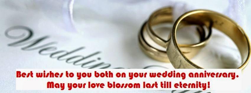 Heureux anniversaire de mariage en anglais