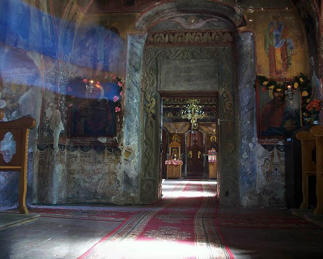 Inside the Cotana church  - Romani