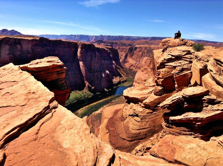 Alone Time - Horseshoe Bend Arizona