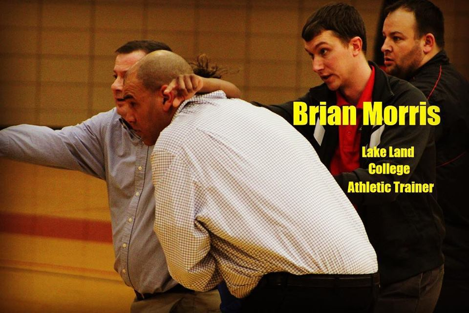 Brian Morris - Lake Land College Athletic Trainer