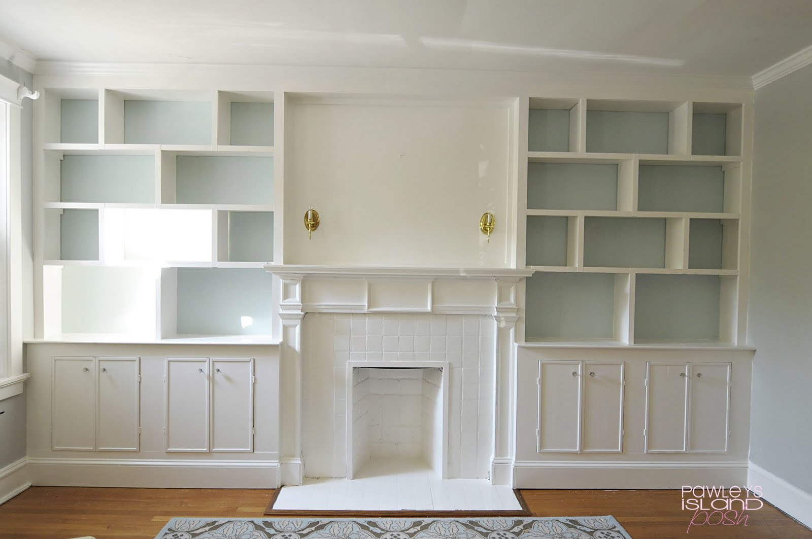 Julia ryan built in bookshelves - Contemporary built in bookshelves ...