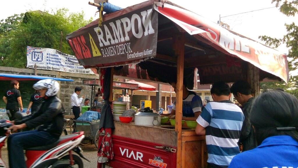 Mie Rampok, Salah Satu Pilihan Kuliner Unik di Cibinong