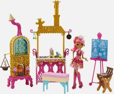 JUGUETES - Ever After High : Sugar Coated | Recubierto de Azúcar  Clase | Class | Playset + Ginger Breadhouse | Muñeca - Doll  Toys | Producto Oficial 2015 | Mattel | A partir de 6 años