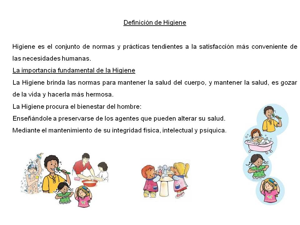 Normas de higiene personal planificacion for Normas de higiene personal en la cocina