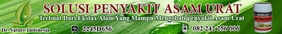 tradisional asam urat herbal alami