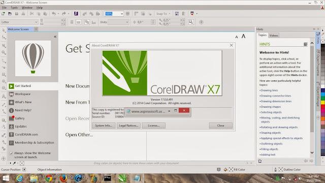 CorelDraw Graphics Suite X7 Full Keygen - Firedrive