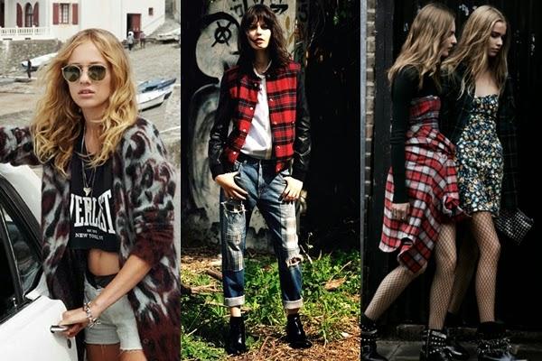 Moda Feminina: Estilo Grunge