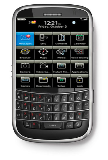 Blackberry Bold Touch 9900 Hands On