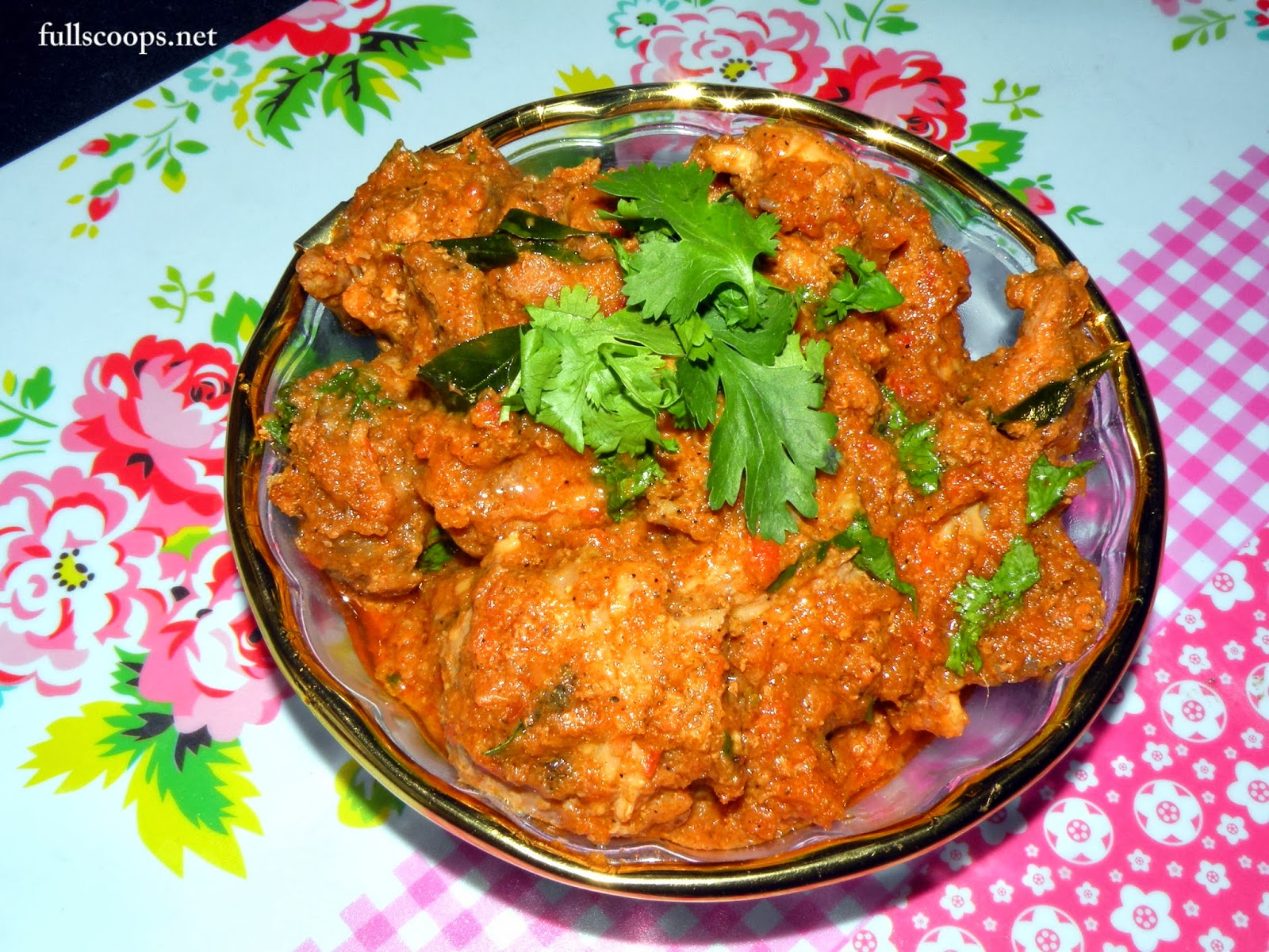 Easy Chicken Masala Recipe ~ Full Scoops