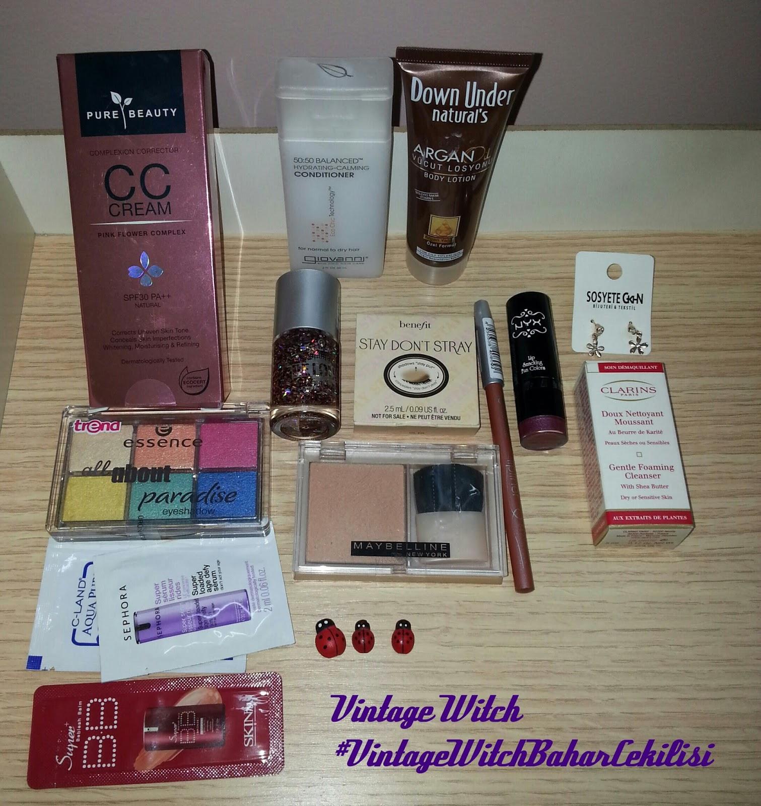 pure beauty cc krem, benefit, clarins, essence, skin79
