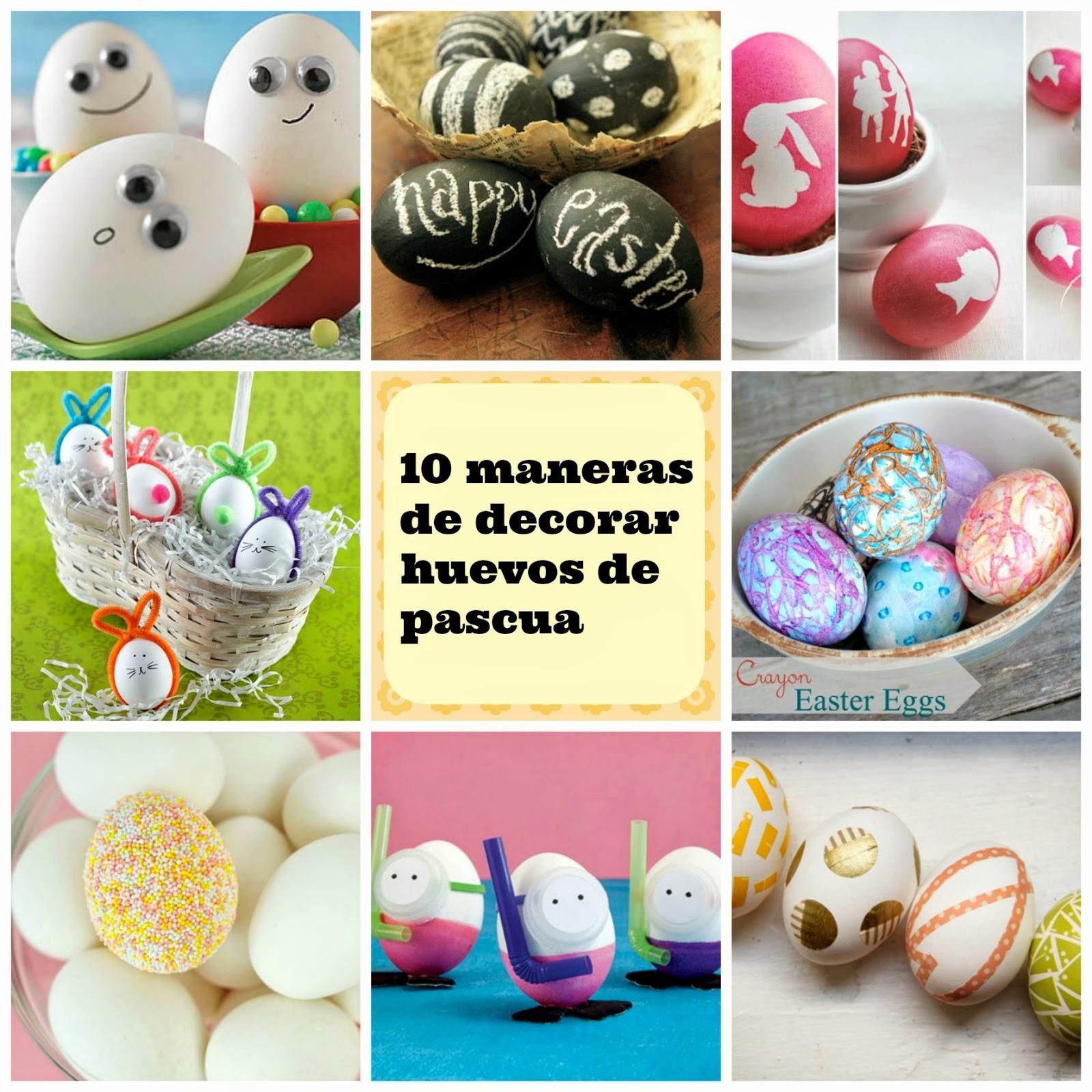 10 maneras de decorar huevos de pascua manzanaterapia for Como pintar huevos de pascua