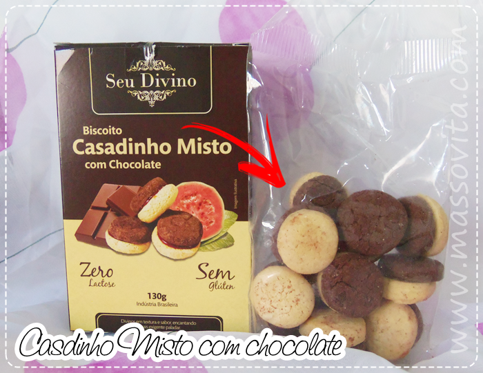 Cookes Casadinho Misto com Chocolate