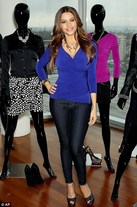 Sofia Vergara with Trend Style Clothes