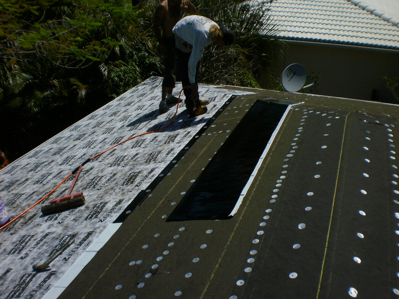 Roofing Felt Installation : Roofer mike says miami roofing concrete tile roof