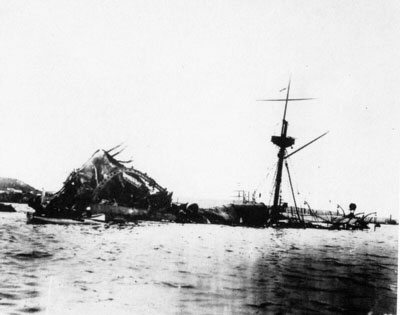 uss maine explosion The uss maine was sunk by a mysterious explosion in havana harbor in february 1898, giving rise to the battle cry, remember the maine, to hell with spain show hide.