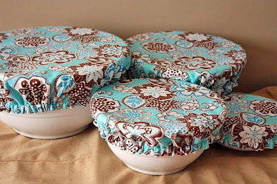 fabric food bowl covers