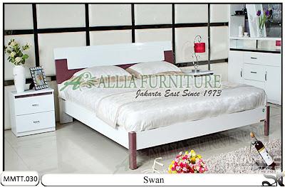 Tempat Tidur Minimalis Modern New Swan