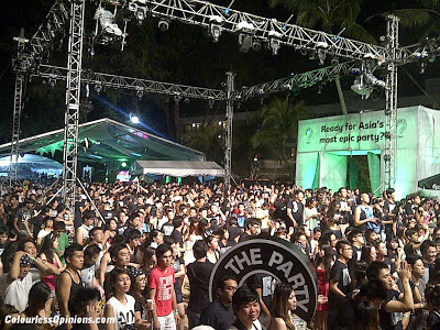 Carlsberg Where's the Party 2012 Penang Hard Rock crowd