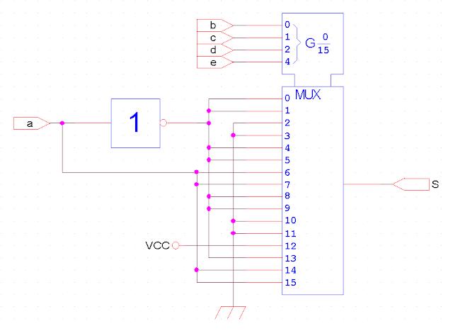 Exercices sur les circuits combinatoires examens for Circuits combinatoires