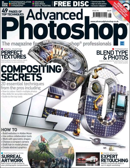 Majalah Photoshop - Advanced Photoshop UK 2012