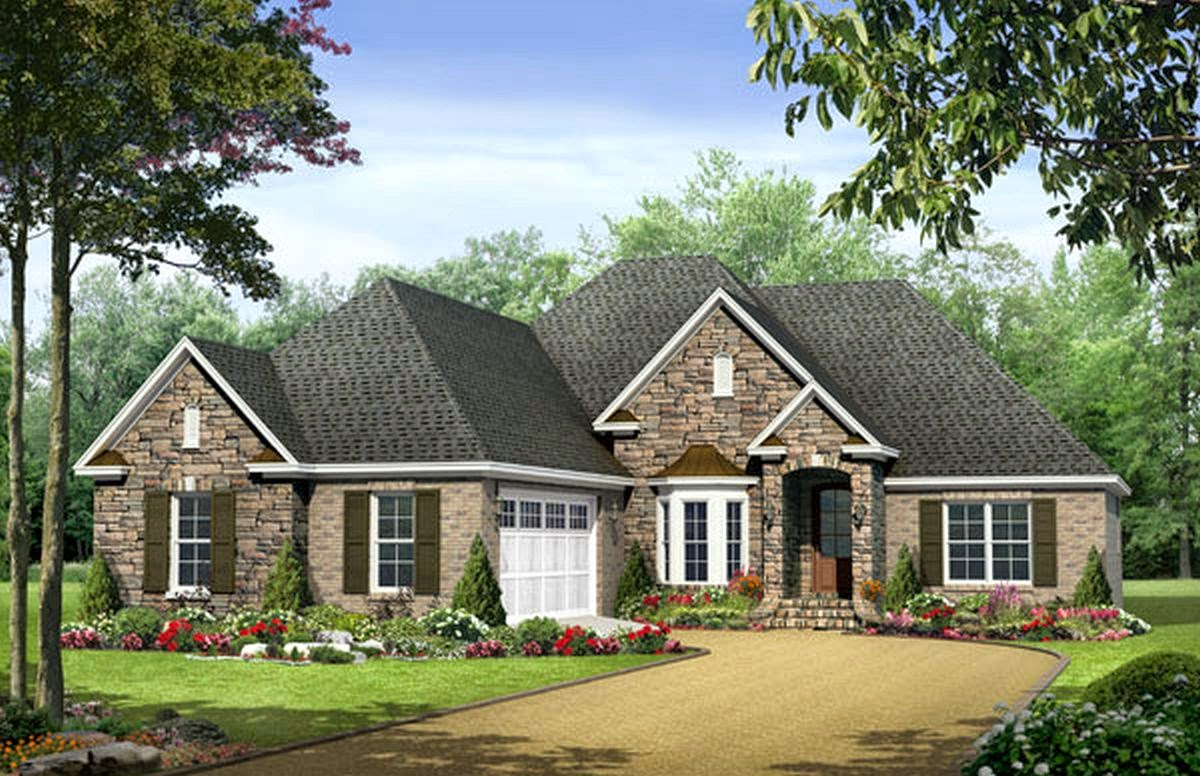 Best of 19 images 1 story house house plans 86481 One story house designs