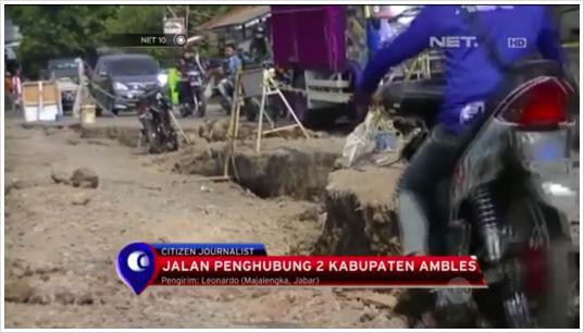 Dampak Soft Geology Jatigede Jalan Jatitujuh-Majalengka Ambles