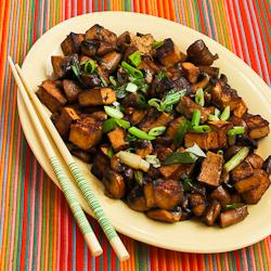 Recipe for Stir-Fried Marinated Tofu and Mushrooms