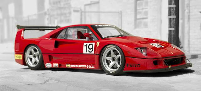 スーパーカーコレクター フェラーリF40LM