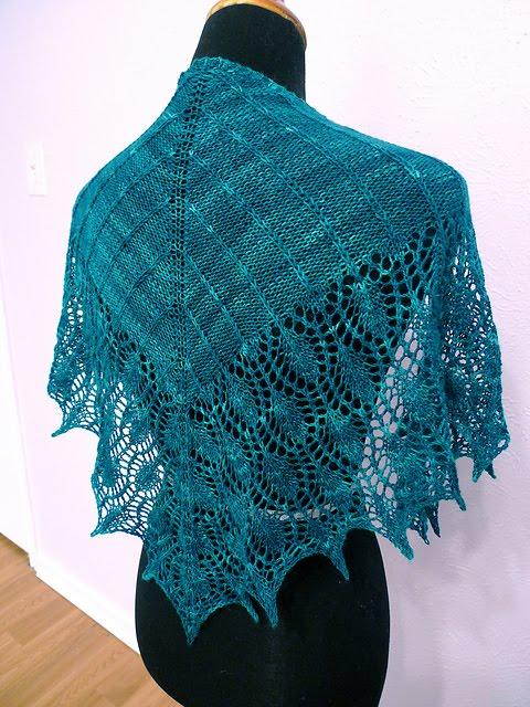 Knitting With Sandra Singh: Kitman Figueroa & Damask Shawl ...