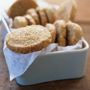 Brown Sugar Shortbread, Cooking Light via My Recipes