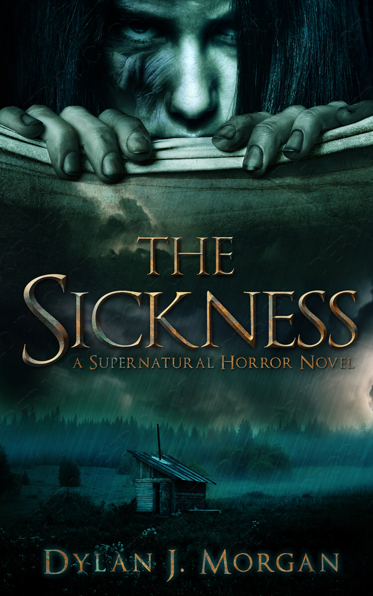 Horror Book Cover Ideas : Terry tyler book reviews the sickness by dylan j morgan