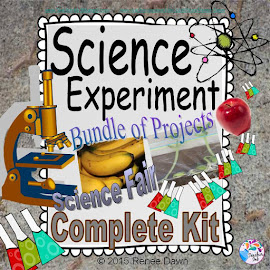 Science Fair Projects - BUNDLE of 3