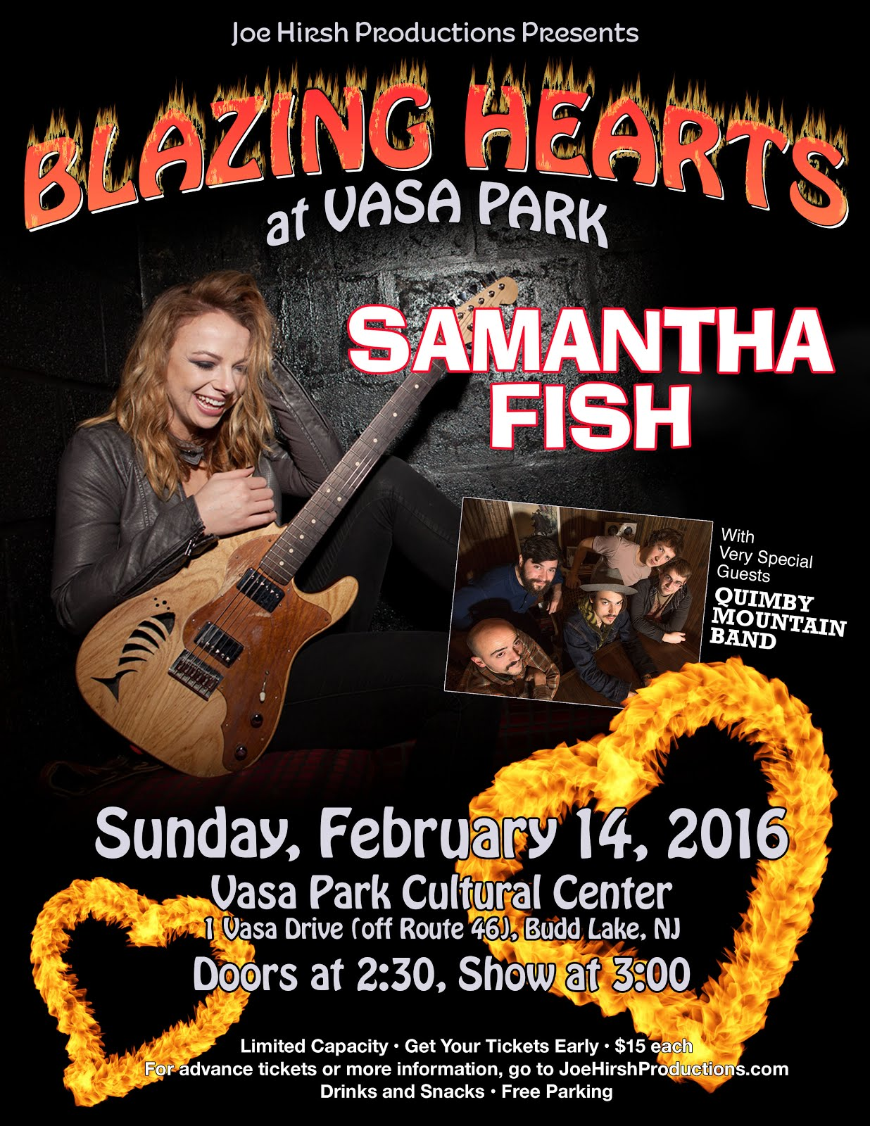 SAMANTHA FISH TICKETS NOW ON SALE!