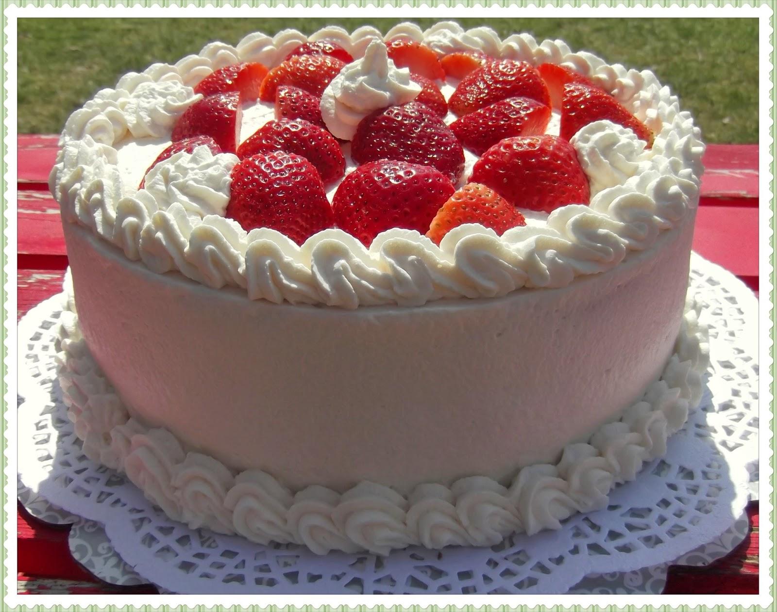 Cake for strawberry shortcake recipe