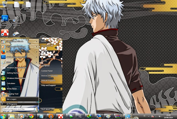 anime themes for pc computer gintama