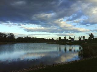 lago vista desde fuente en el Parque de Plaza zaragoza