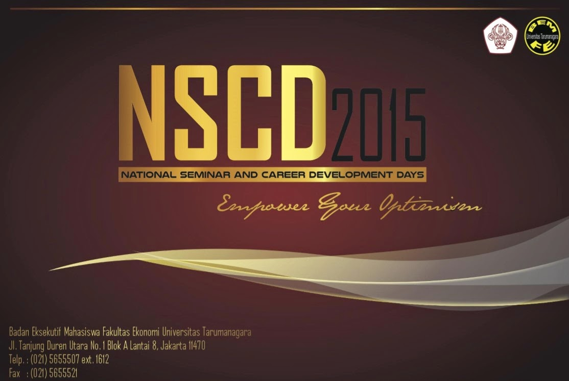National And Career Development Days 2015 (NSCD 2015) UNTAR