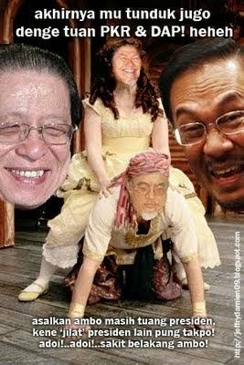 Azizah MB PAS Hanya Anjing Anwar
