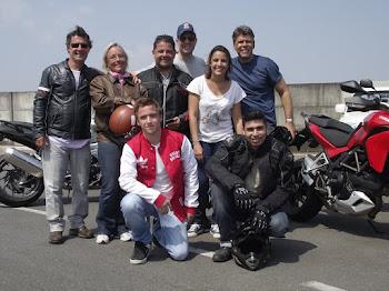 Turma da Família e Amigos do Paulo. Curso dia 07 de Outubro de 2012.