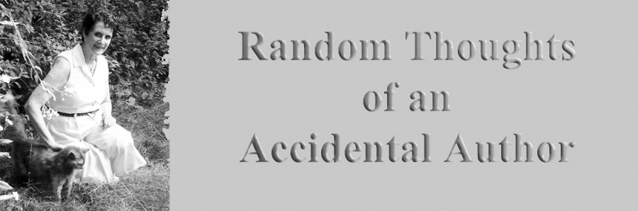 Random thoughts of an Accidental Author