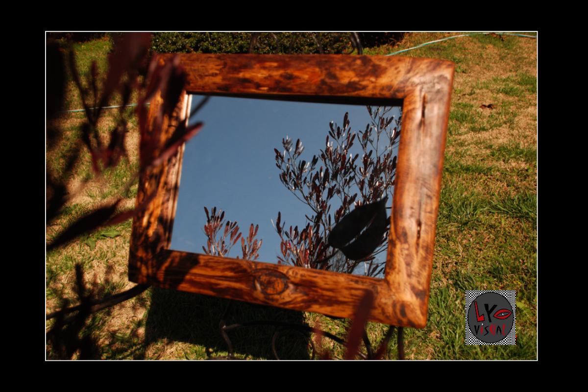 Lyo visual espejos marcos r sticos - Marcos rusticos para espejos ...