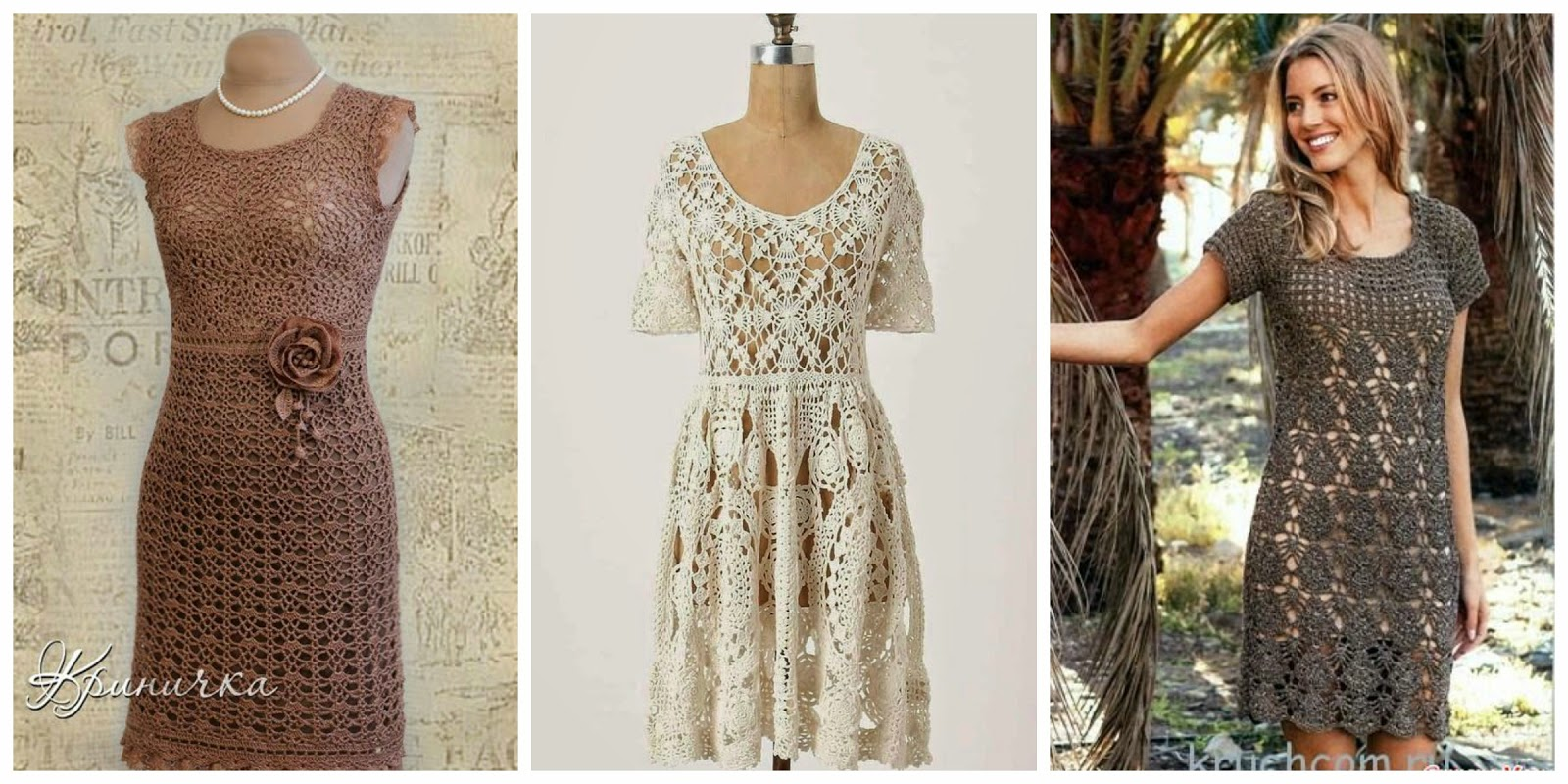 Little Treasures: 15 Crochet Dresses - free patterns and ...