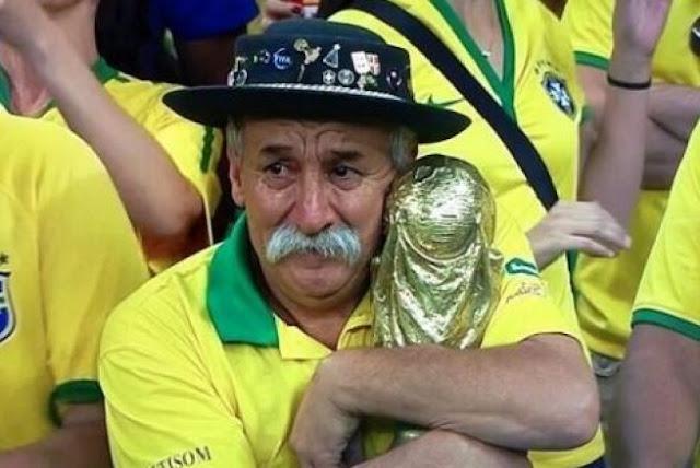Fan #1 de Brasil deja huérfana a la verdeamarela