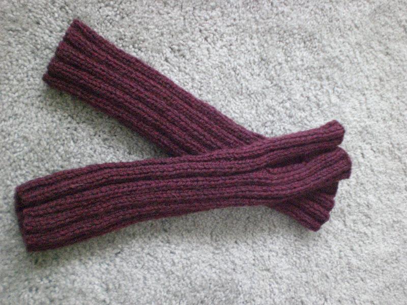 Tangles & Twists: Knit Fingerless Arm warmers