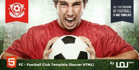 FC - Football Club Template