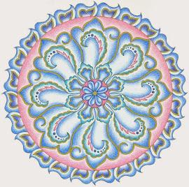 Oriëntaalse mandala
