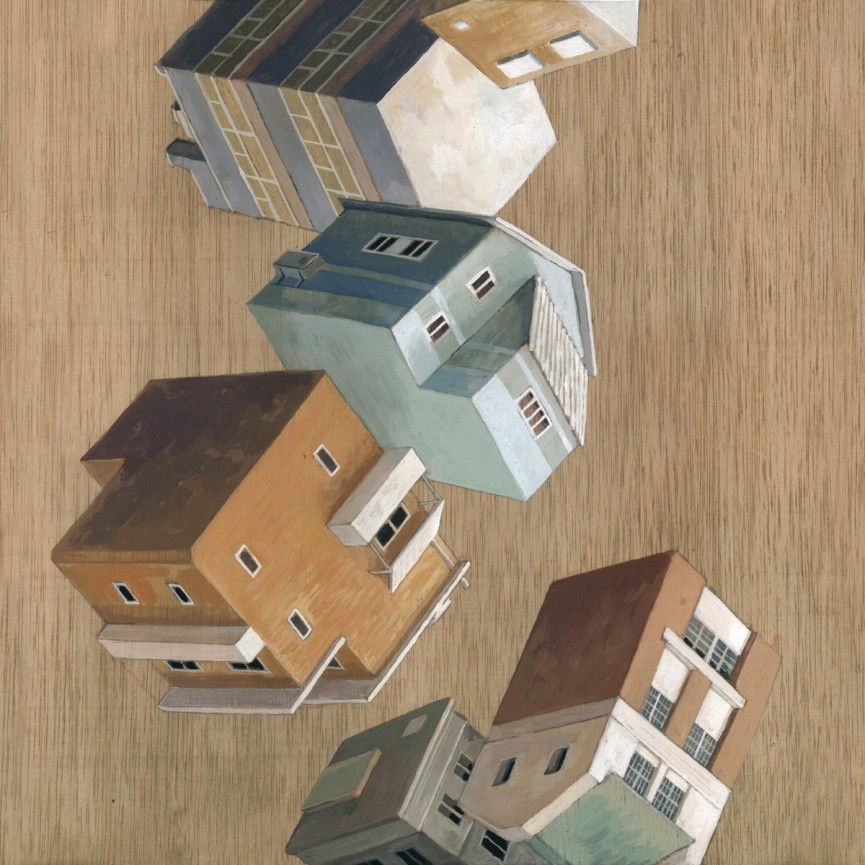11-Cases-Volant-Cinta Vidal Agulló-Multi-directional-Surreal-Architecture-Drawings-and-Paintings-www-designstack-co