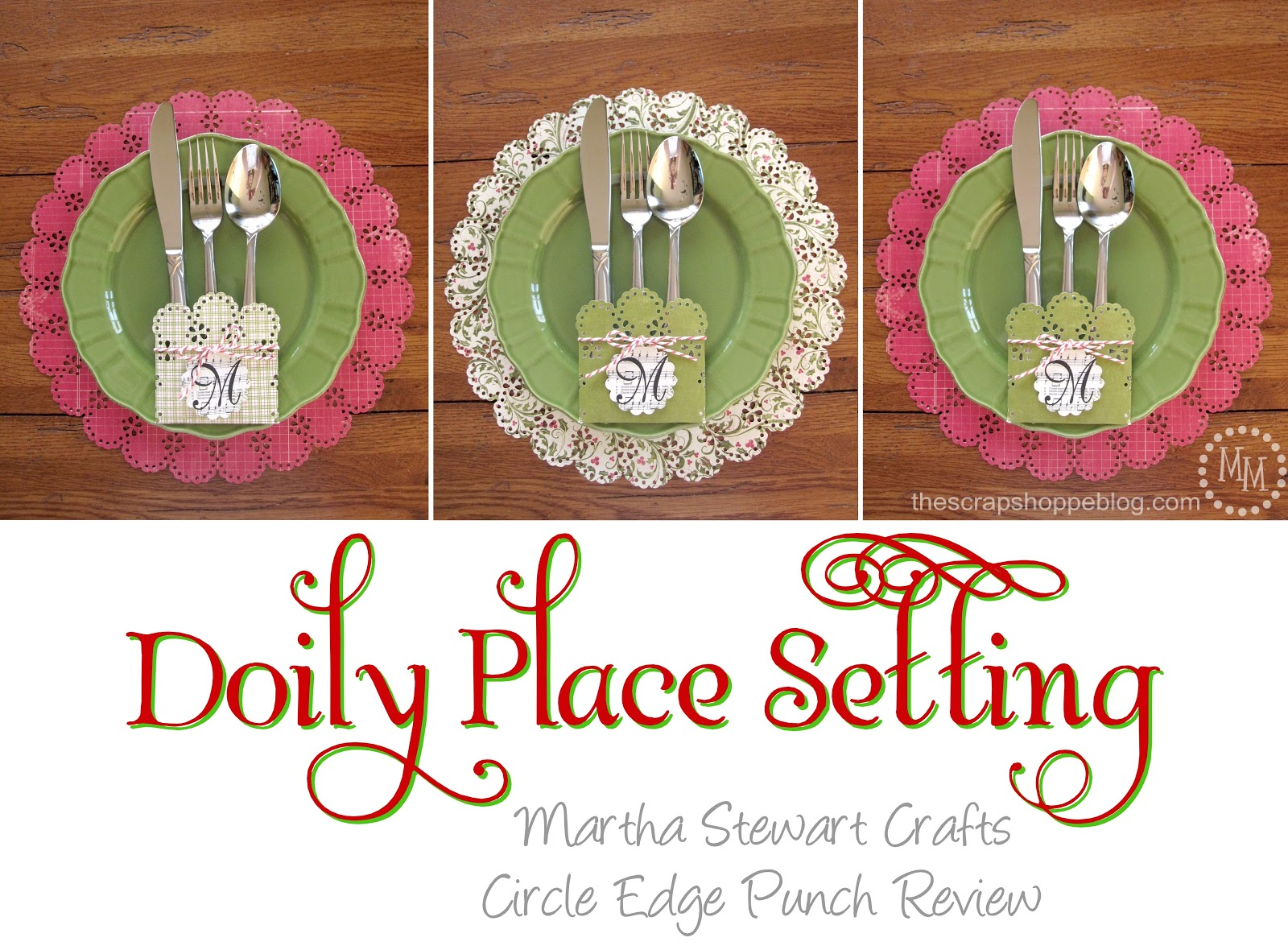 Martha stewart crafts circle edge punch doily place setting the martha stewart crafts circle edge punch doily place setting negle Images