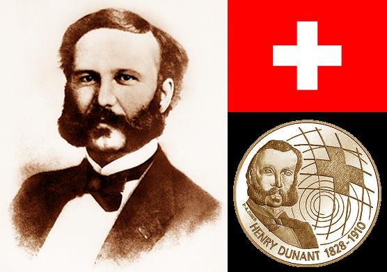 Perjalanan Bapak Palang Merah Internasional Henry Dunant